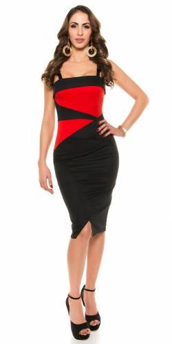 Kleid Leandra - red