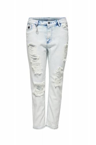 Boyfriend Jeans - pale blue