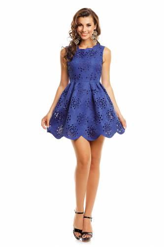 Kleid - blue