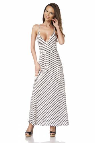 Träger Kleid - white
