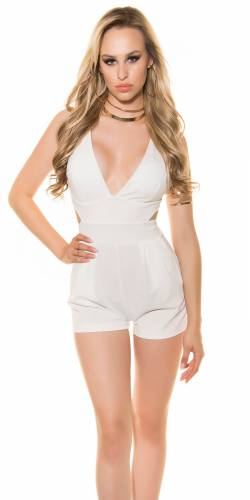 Playsuit Veronique - white