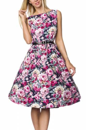 Vintage-Kleid - pink