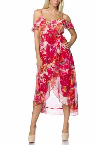 Kleid Flora - red