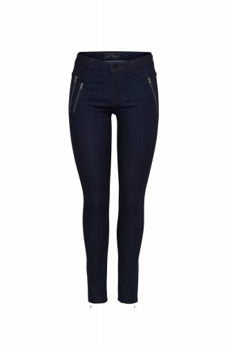 Second Skin Jeans - dark blue