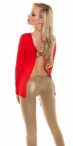 LongShirt Joya - red