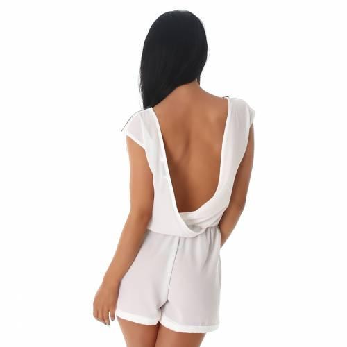 Short Overall - white