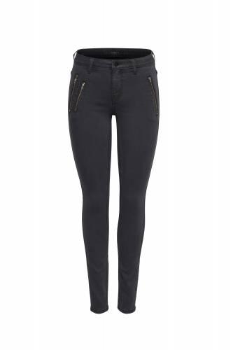 Skinny Jeans - gris foncé