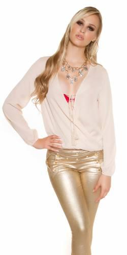 Bluse Latifa - beige