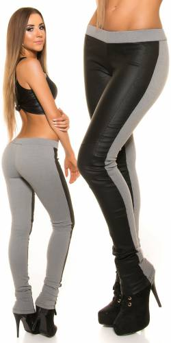 Treggings Terry - grey