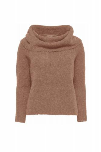 Shoulder Pullover - beige