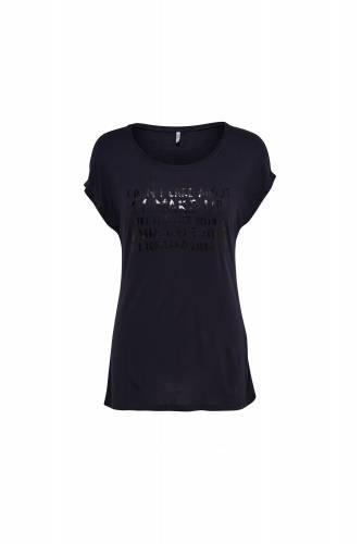 Print Shirt - dark blue
