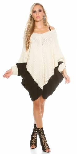 Oversize Pullover - beige