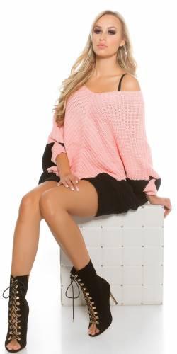 Oversize Pullover - rose