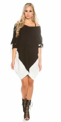 Oversize Pullover - black