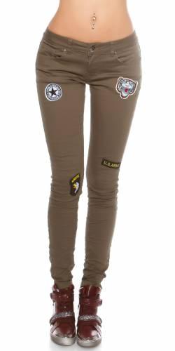 Skinny Jeans  - khaki