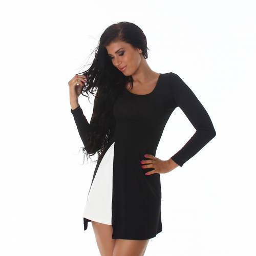 Longshirt - black