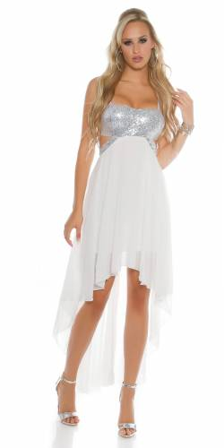 Partykleid - white