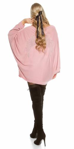 Pulli AngelWings - old rose