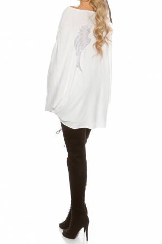 Pulli AngelWings - white