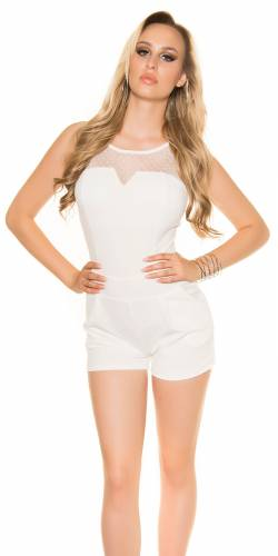 Playsuit - white