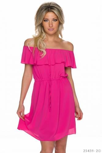Carmen Kleid - pink
