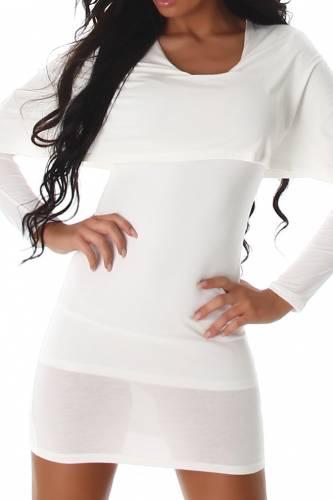 Longshirt - white