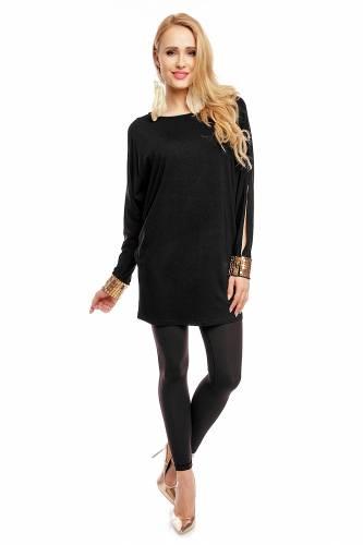 Langarm Shirt - black