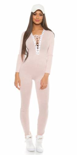 Fineknit Overall - rose