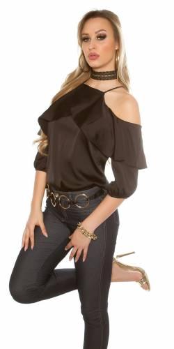 Volant Shirt - black