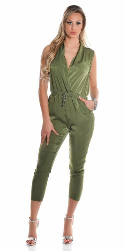 Playsuits - khaki