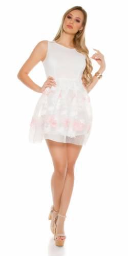 Minikleid - white