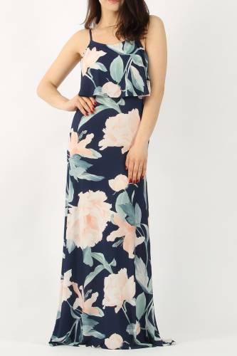 Cami Maxi Dress - blue