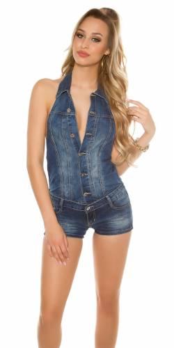 Jeans-Jumpsuit - blau