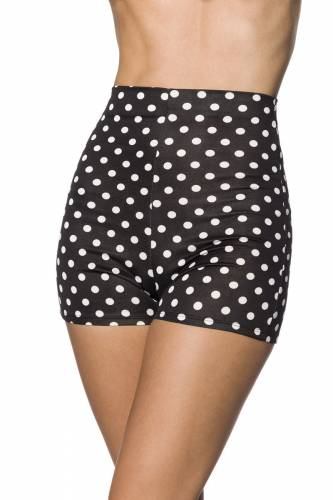 High Waist Shorts - black