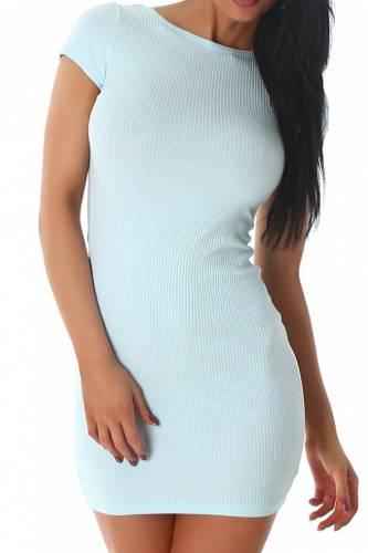 Feinripp Kleid