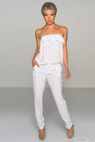 Bandeau Overall - white