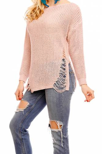 Pullover V&F - old rose