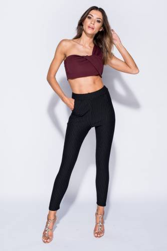 High Waisted Hose - black