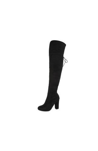 Overknee Stiefel - black