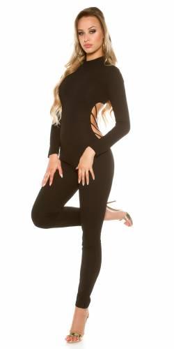 Catsuit - black