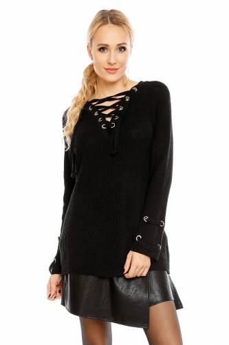 Strick Pullover - black