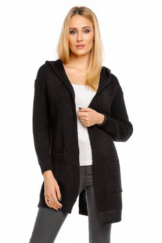 Cardigan V&F - black