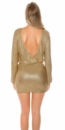 Party Kleid - gold