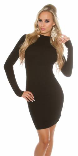 Basic Kleid - black