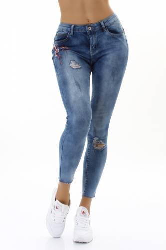 Skinny Jeans - dark blue
