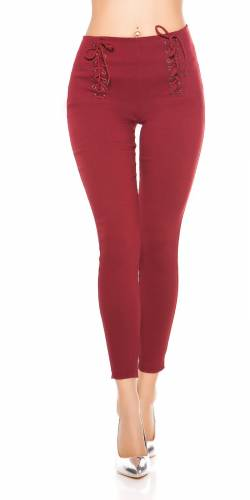 Leggings - bordeux