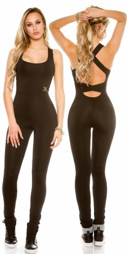 Workout-Overall - black