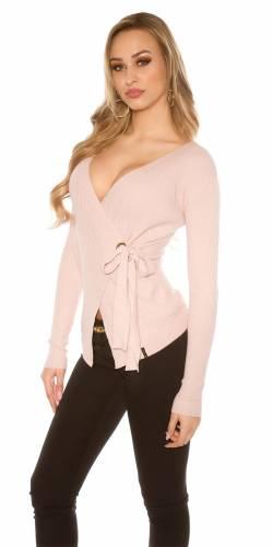 Wickel Pullover - rose