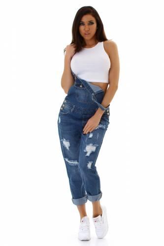 Jeans Latzhose - blue