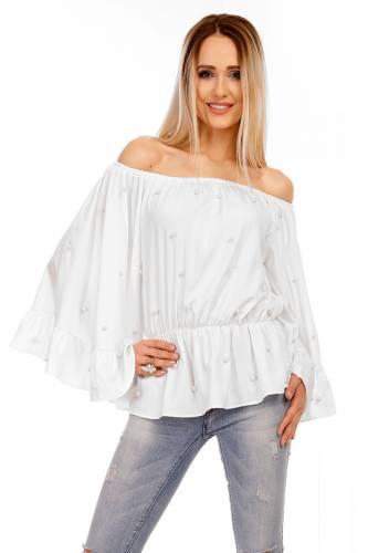 Bluse Luzabelle - white